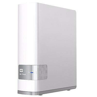 "WD My Cloud 2TB NAS 3.5"" External Gigabit Ethernet Hard Disk USB 3.0 PC MAC"