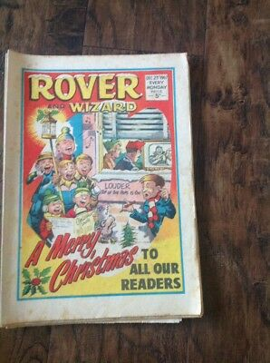 Rover  comic December 23rd 1967 - 50th Birthday present !