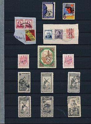 Spain. Double stockpage with civil war issues #5