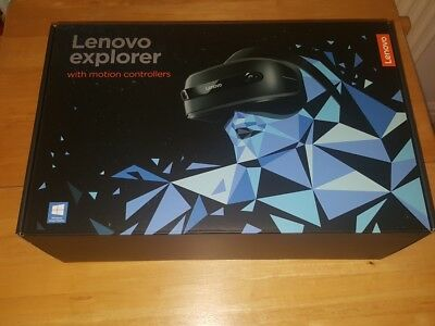 Lenovo Explorer - Mixed Reality Headset with controllers - VR - Virtual reality