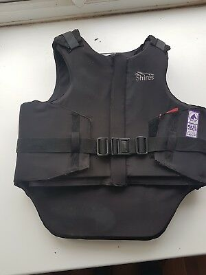 Shires Horse body protector size Adult large