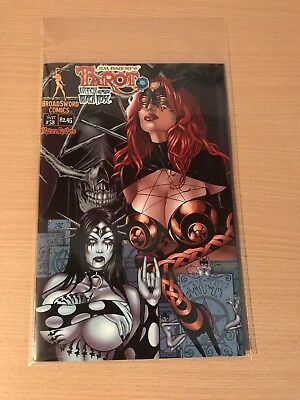 Tarot Witch Of The The Black Rose #58 NM Free U.k Post