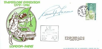 Ranulph Fiennes Hand Signed Autographed 1979 Original First Day Cover