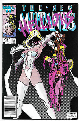 The New Mutants 39 Art Adams Cover New Hellions First Series
