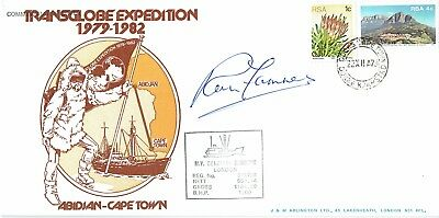 Ranulph Fiennes Hand Signed Autographed Original First Day Cover