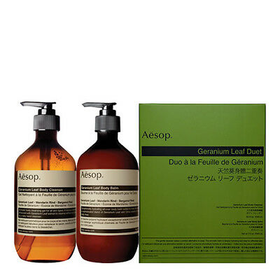 Express Post] AESOP Geranium Leaf Duet for Holiday Christmas Gift