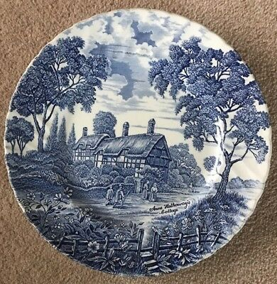 Anne Hathaways Cottage Collectable Plate By Ridgway