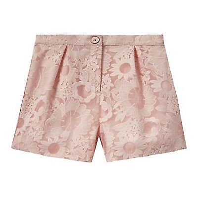 Ted Baker Girls Pink Embroidered shorts. Age 8 Years. BNWT. Designer