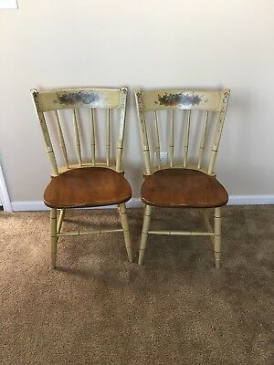 Pair Of Antique Heywood Wakefield Chairs