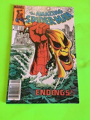 Amazing Spiderman 251 Apparent Death of Hobgoblin! Key! Newsstand Variant!