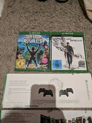5 Xbox One Games +1 Monat Xbox Game Pass +14 Tage Xbox Live Gold