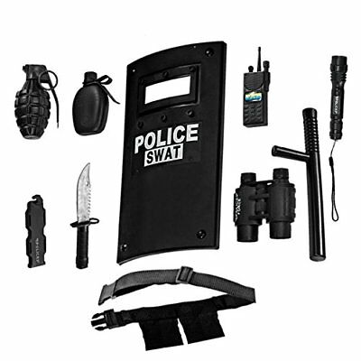 Police Officer Role Play Set For Kids Durable Plastic Construction Kids Gift New