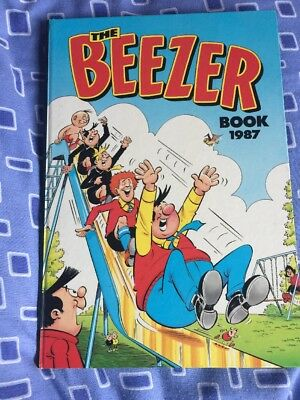 The Beezer Book Annual 1987 Collectible Rare