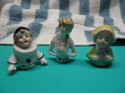 German Numbered Pin Cushion Half Dolls- 2 Children!!