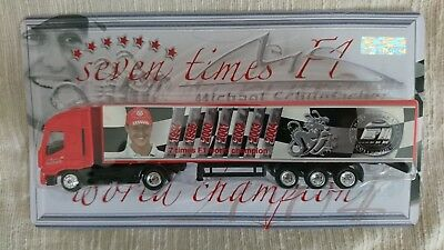Michael Schumacher-Truck  -  Seven Times F1 World Champion