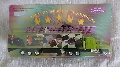 Michael Schumacher-Truck  -  5 Times F1 World Champion - Melbourne Edition