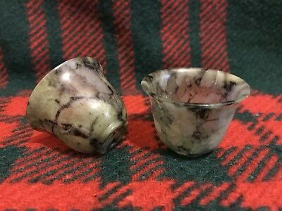 A Pair of Chinese turned Jade Bowls