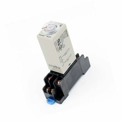 Baomain AC 110V H3Y-2 Time Delay Relay Timer 0-10Min DPDT with Socket