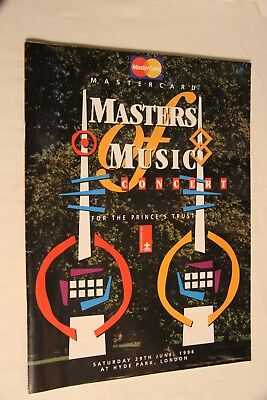 Masters of Music Programme 1996 - The Who, Clapton, Dylan, Jools, Alanis etc..
