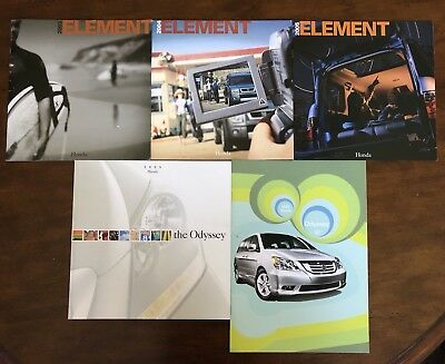 2003 2004 2005 Honda Element Sales Brochure Product Odyssey 03 04 05 FreeShippin