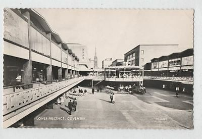 COVENTRY postcard - LOWER PRECINCT - circa. 1959
