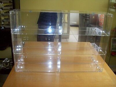 6 Model car Display case 1/18th scale Mirror backed.