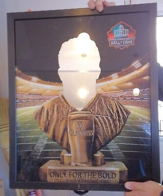 Guiness mirror from Pro Football Hall of Fame in Canton Ohio