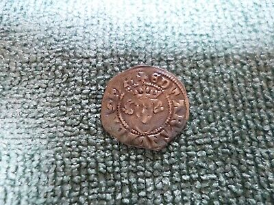 English Silver Coin of Edward the Third (I believe) - England Medieval