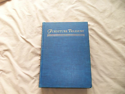 1954 FurnitureTreasury. Large Hard cover By Wallace Nutting.Mostly American orig