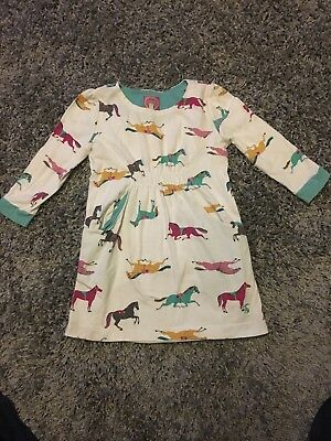 joules Girls Horse Tunic Top Age 7