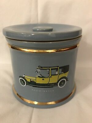 Blue Denby Storage Jar