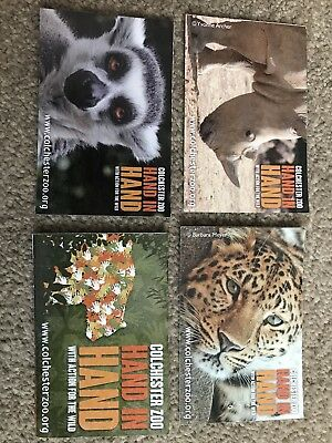 Colchester Zoo Tickets, 2 Adults & 2 Children, Expire 20.2.18, Value Up To £77