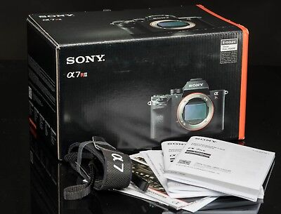 SONY A7RII -  BOX - Box Only with Packing, manuals & strap - NO CAMERA