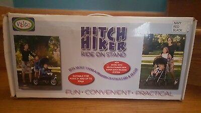 NEW Valco Baby Hitch Hiker Ride On Board, Black ACC7152 fits most strollers
