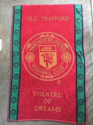 Manchester UTD Bath Towel maybe for a Doggy Supporter?!