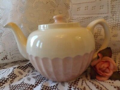Pretty Vintage Sadler Pink Cup Cake Large Tea Pot