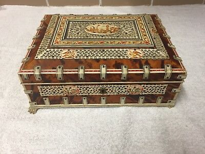 Anglo Indian Vizagapatam Jewellery Box