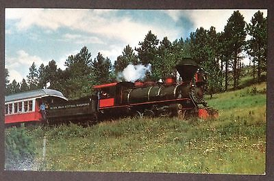 Black Hills Central Railroad In The Black Hills Of South Dakota Train Pc.