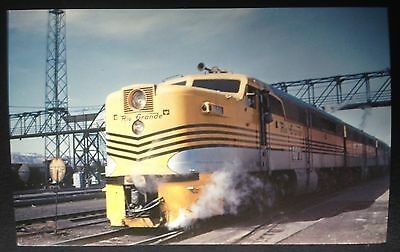Denver & Rio Grande Western R.r. Co. Train Postcard (2)