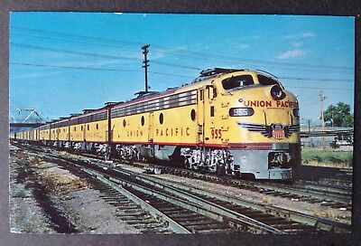 "Train Pc~Union Pacific No.9 ""city Of St. Louis"" Leaving Denver"