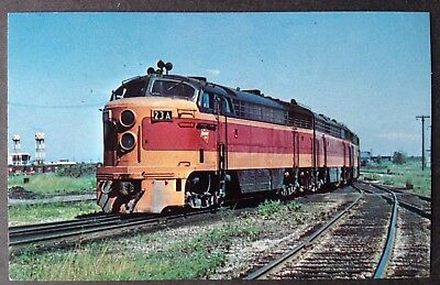 Train Pc.~Milwaukee 23, Fairbanks-Morse Freight Units At Bensonville, Ill
