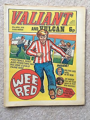 VALIANT AND VULCAN #3 - 24th April 1976 + FREE GIFT VULCAN MINI MAG