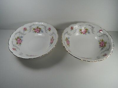 "Royal Albert Tranquillity 6 1/4"" wide Bowls."