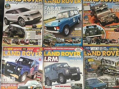 Land Rover Monthly Magazine Collection / Job Lot 20 Issues / Defender, Discovery