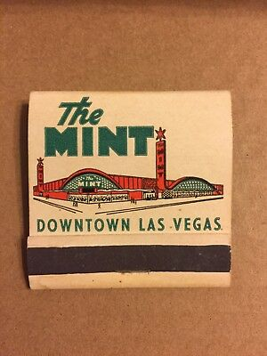 The Mint Downtown Las Vegas, The Big Star on Fremont, Matchbook