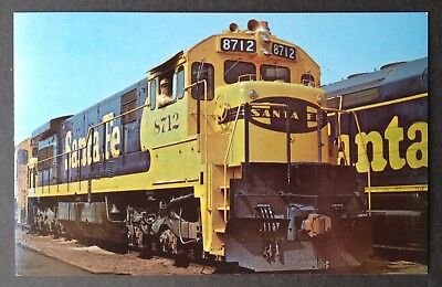 Train Pc~Santa Fe 8712 New General Electric U36C's