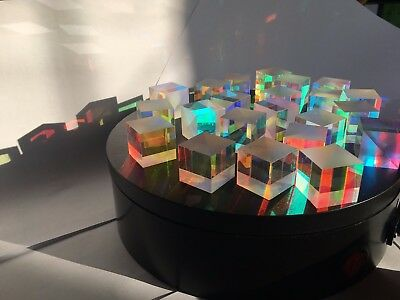 4pcs/lot 1.7cm Cross Dichroic  Cube RGB X-cube Optical Prism Defective