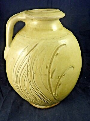 Vintage Handmade Studio Pottery Mike Dodd Large Stoneware Pot - Quality Piece