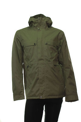 Men's The North Face Insulated Jenison Jacket Medium Green New Waterproof NWT