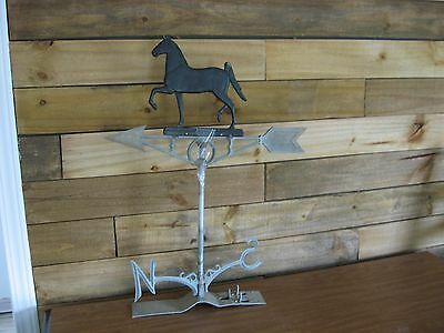Vintage Aluminum Robbins Maryville, MO Prancer Horse Weather Vane Weathervane